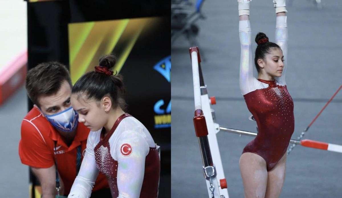 Artistik Cimnastik Dünya Challenge Kupası'nda alet final yarışmaları...