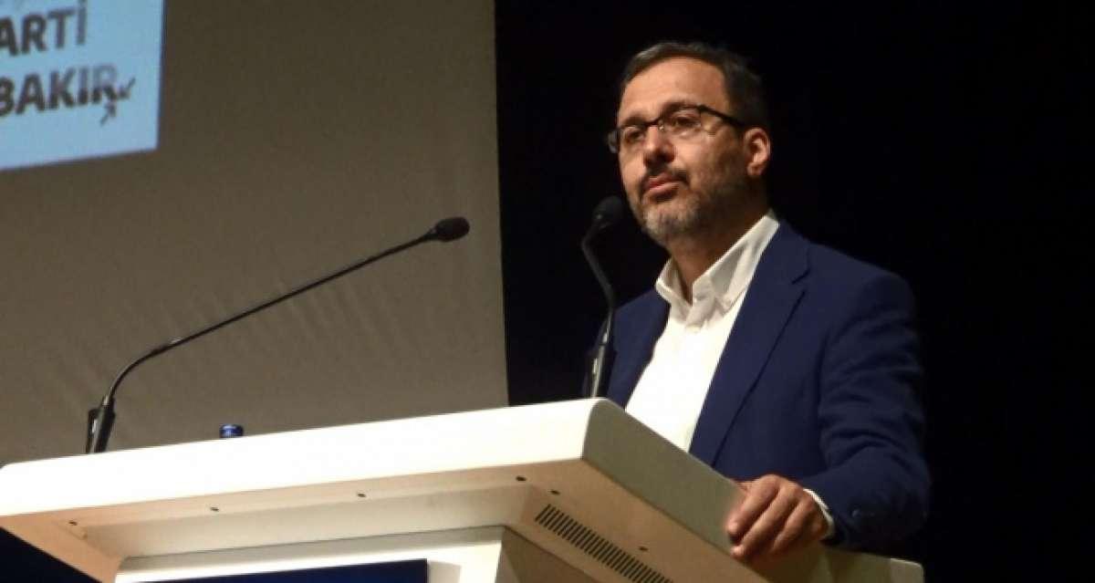 Bakan Kasapoğlu, Diyarbakır'da sandık görevlileri eğitim programına katıldı