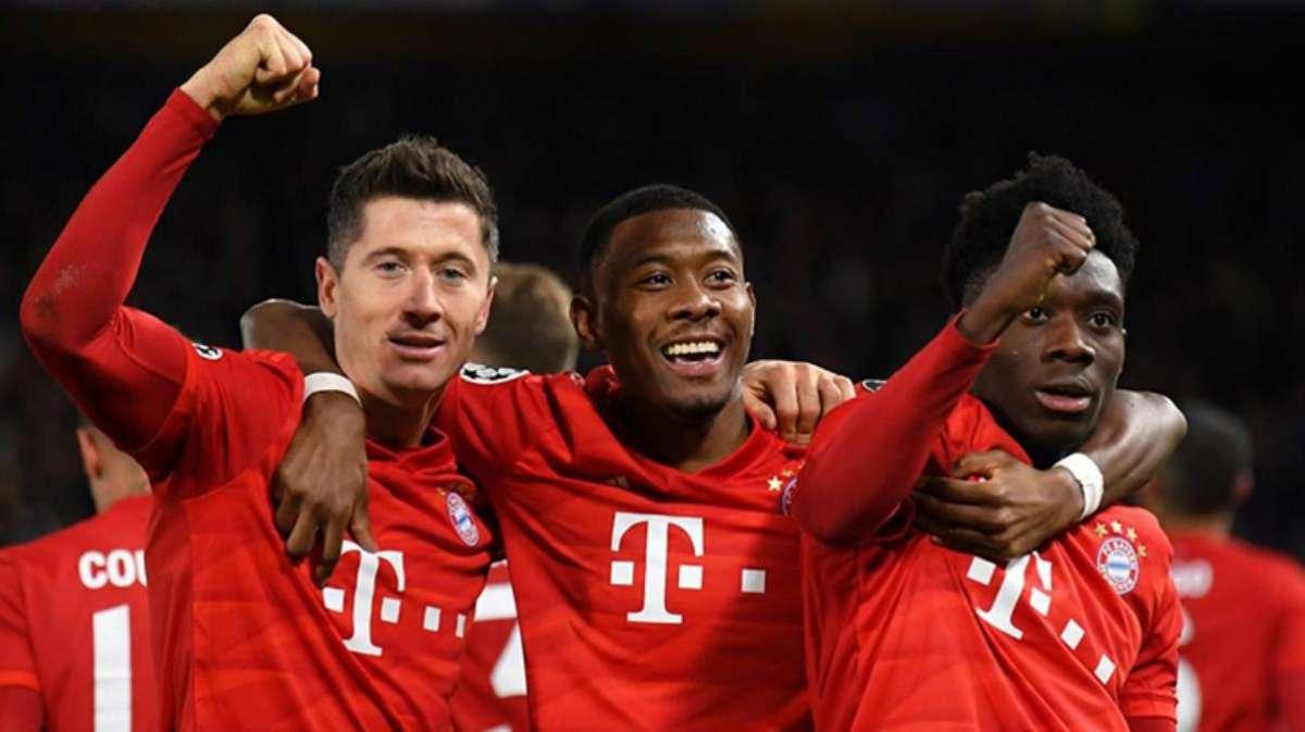 Bundesliga'da Bayern Münih üst üste 9. kez şampiyon oldu