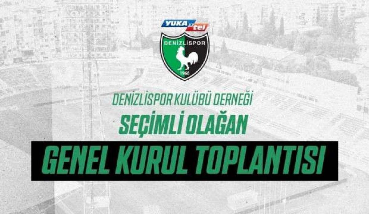 Denizlispor'da seçim ertelendi
