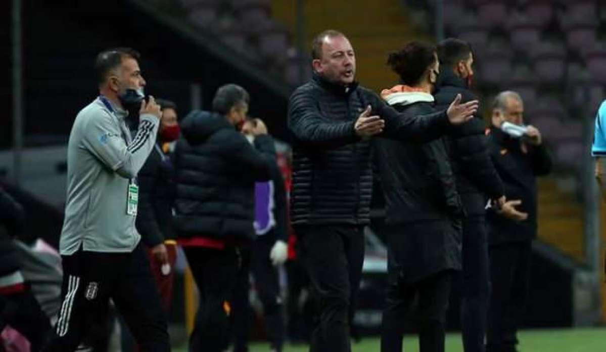 Derbi sonu Sergen Yalçın'a Galatasaraylı isimden büyük terbiyesizlik!