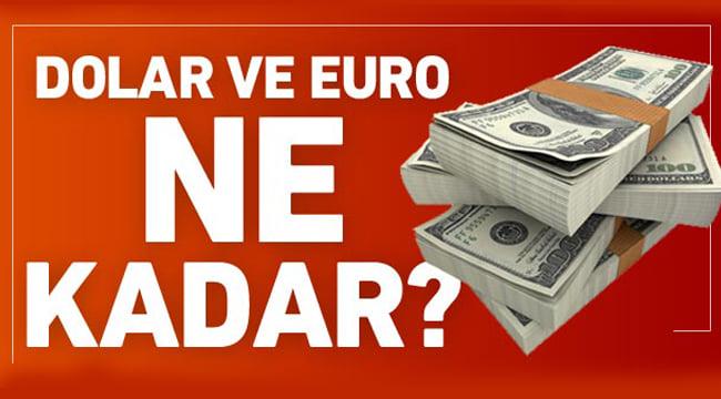 Dolar ve euroda anlık yükseliş