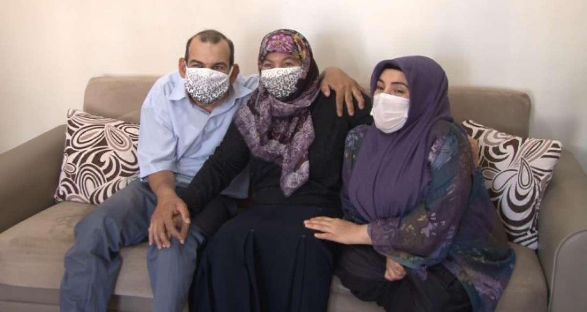 Engelli gelinden kayınvalidesine duygulandıran Anneler Günü sürprizi