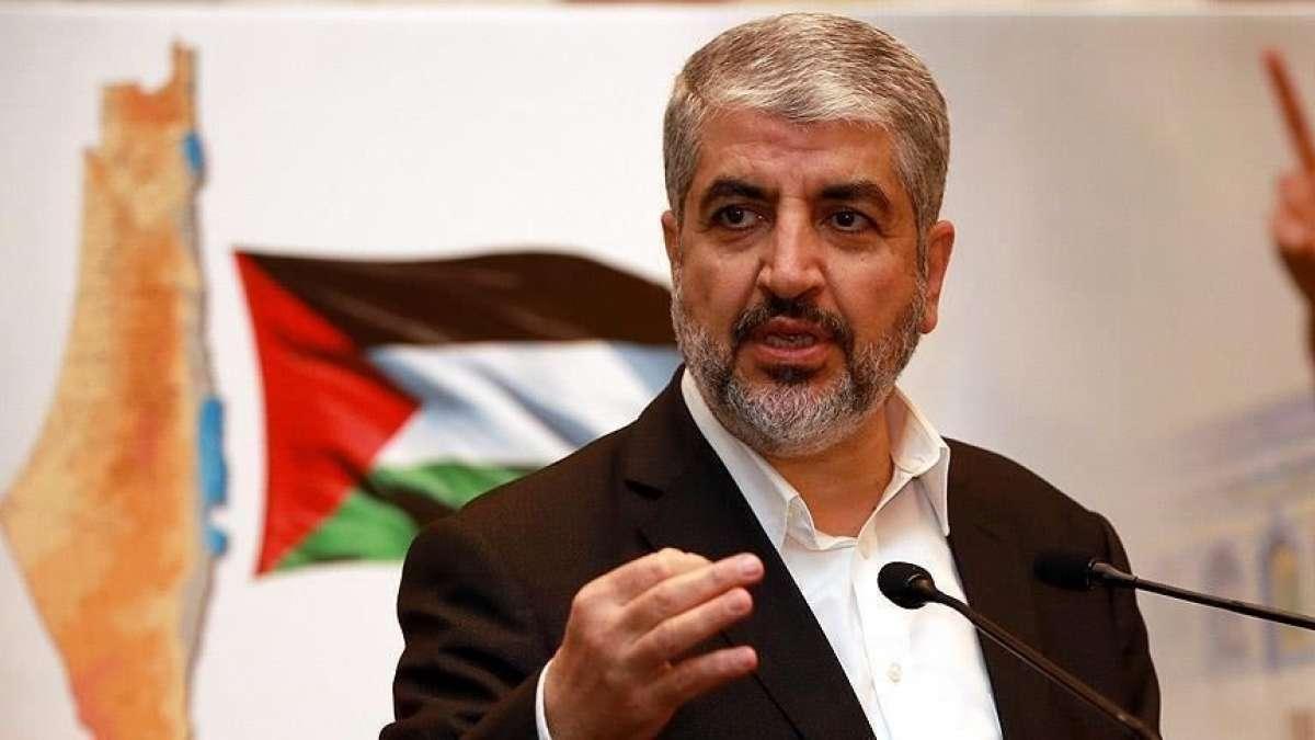 Eski Hamas Lideri Meşal, Kudüs'ün 'Siyonist işgalcilerin ayakları altında kalmayacağını