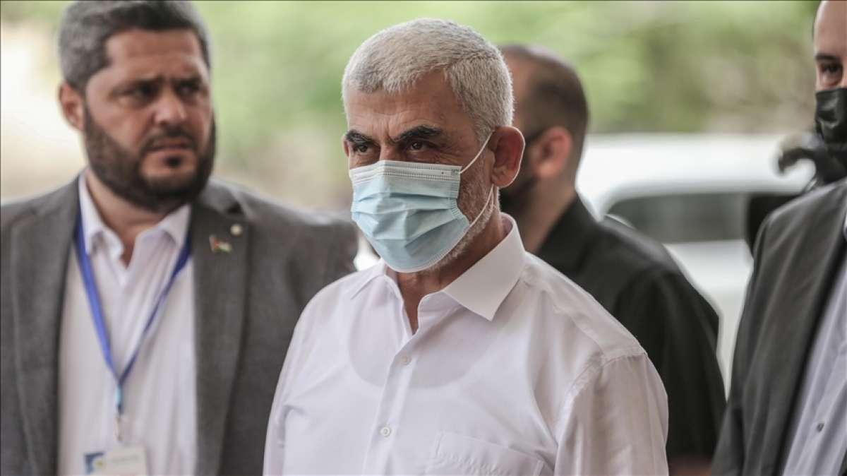 Hamaslı yönetici Sinvar, 'Gazze'de insani durumun iyileştirilmesinin' öncelikleri old
