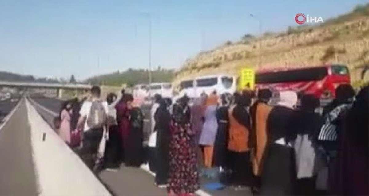 İsrail güçleri, Kadir Gecesi öncesinde Mescid-i Aksa'ya girişleri engelledi