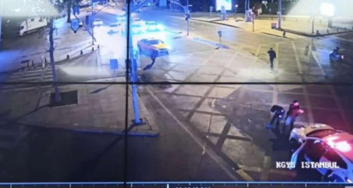 İstanbul'da nefes kesen kovalamaca kamerada: Polis suç makinesini böyle yakaladı