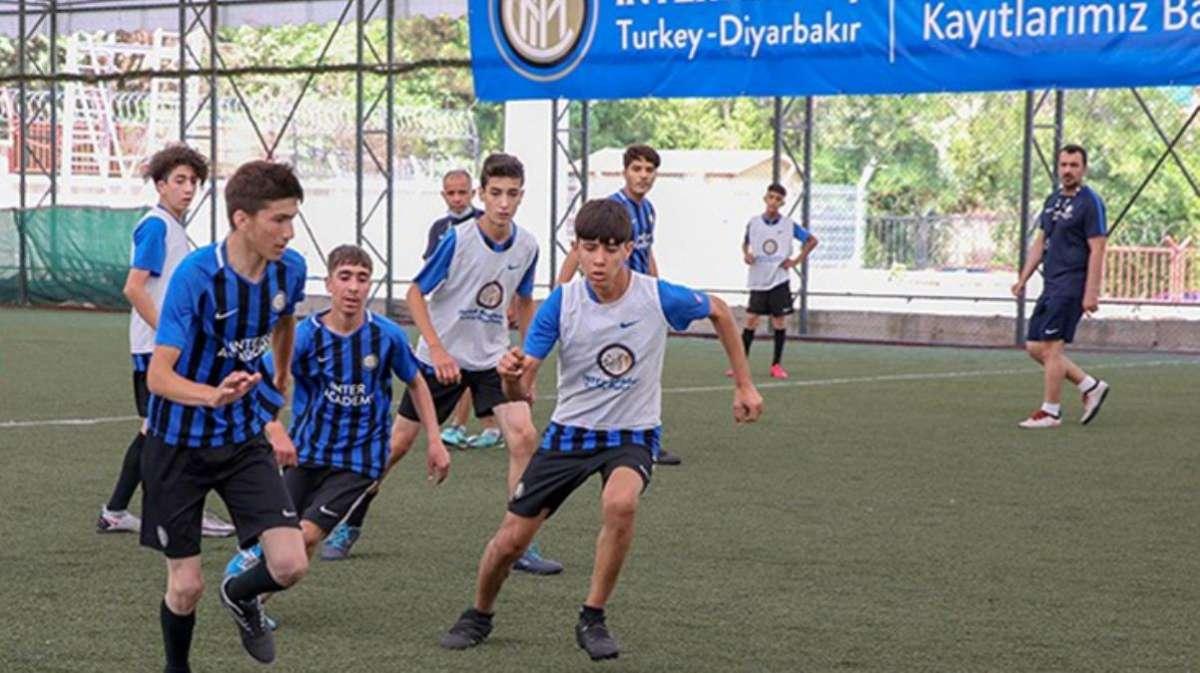 İtalyan devi Inter, Diyarbakır'da futbol akademisi kurdu