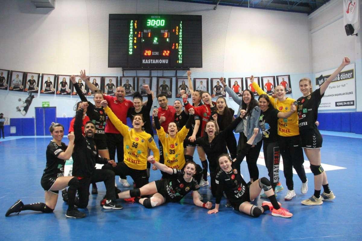 Kadınlar Süper Liginde şampiyon Kastamonu Belediyespor