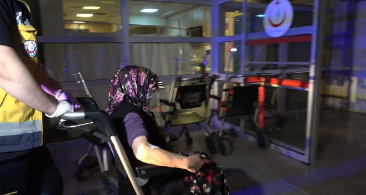 Kırıkkale'de vücuduna kene yapışan kadın hastaneye kaldırıldı