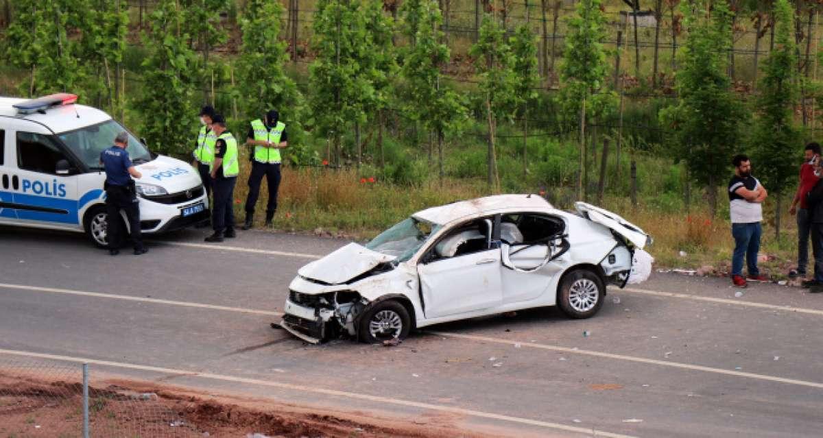 Kuzey Marmara Otoyolu bağlantı yolunda feci kaza: 1 ölü, 2 yaralı
