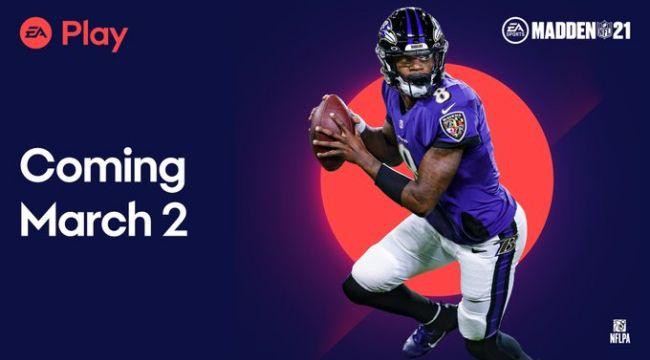 Madden NFL 21 EA Play'e geliyor !