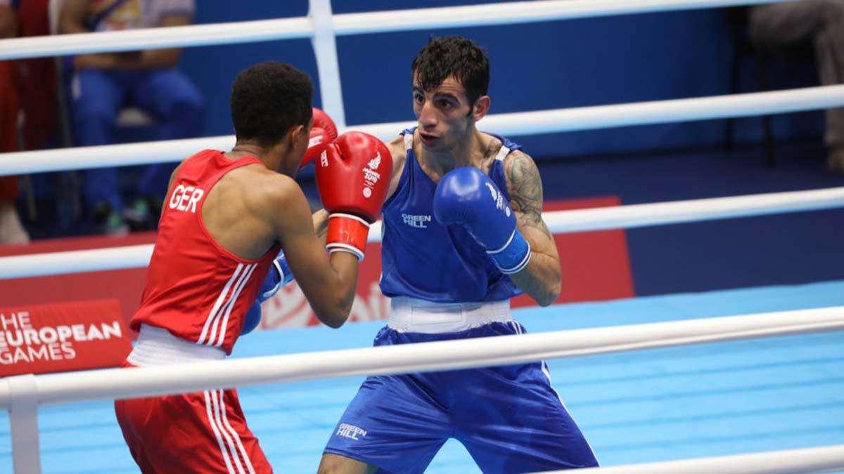 Milli boksör Batuhan Çiftçi, Fransada yarı finale yükseldi