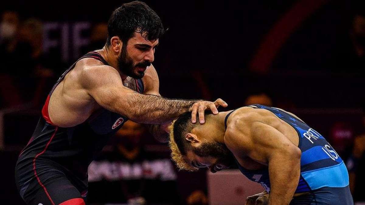 Milli güreşçi Fatih Cengiz, Tokyo Olimpiyatları'na kota alamadı