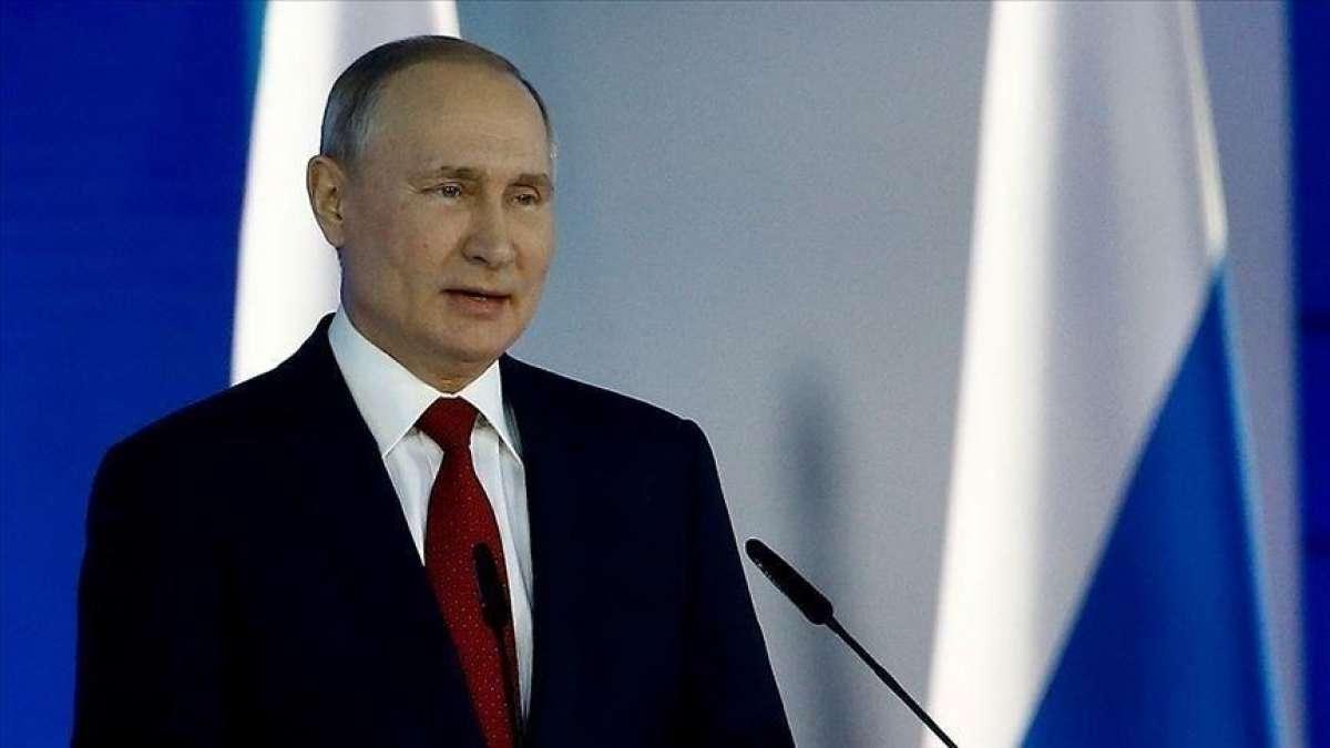 Putin: İsrail - Filistin sorununun çözümüne dair konuların arka plana veya kenara atılmaması önemli