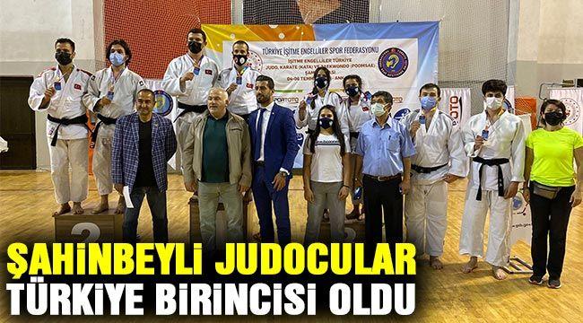 Şahinbeyli Judocular Türkiye birincisi oldu
