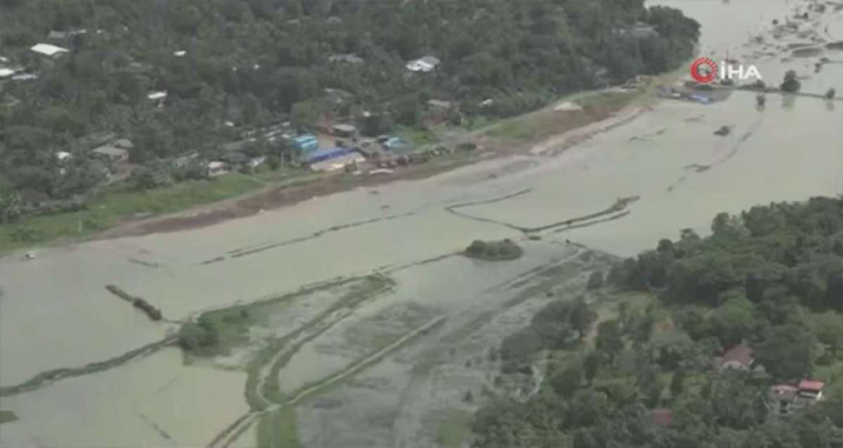 Sri Lanka'da toprak kayması ve sel: En az 4 ölü, 7 kayıp