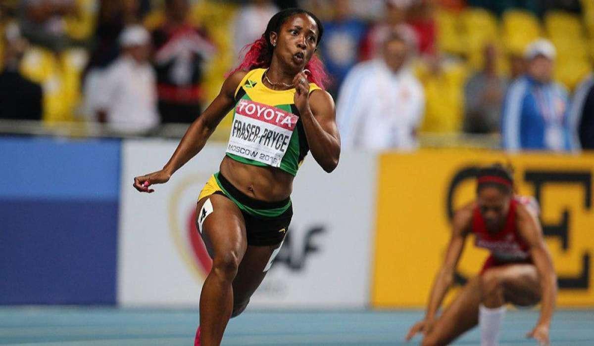 Tarihin en hızlı 2. kadın sporcusu Jamaikalı atlet Shelly-Ann...