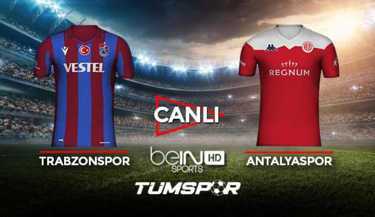 Trabzonspor Antalyaspor maçı canlı izle! BeIN Sports TS Antalya maçı canlı skor takip!