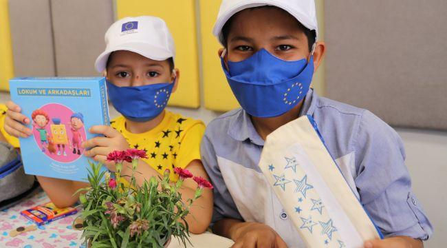 Gaziantep AB Bilgi Merkezi, 'Dünya Çevre Günü'nü çocuklarla kutladı