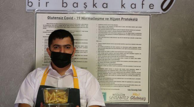Gaziantep'in glütensiz lezzetleri Türkiye'ye dağılıyor