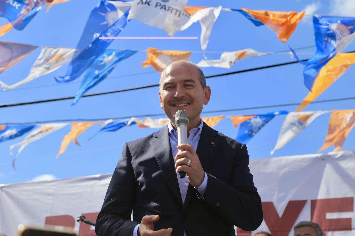 İçişleri Bakanı Süleyman Soylu, Afyonkarahisar'da konuştu Açıklaması
