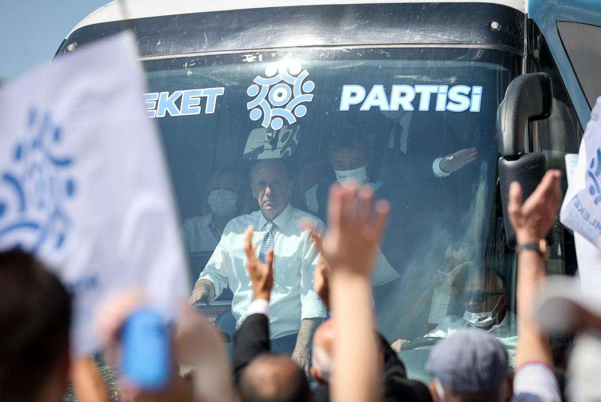 Memleket Partisi Genel Başkanı Muharrem İnce: 'Siyasetin dilini değiştireceğiz'