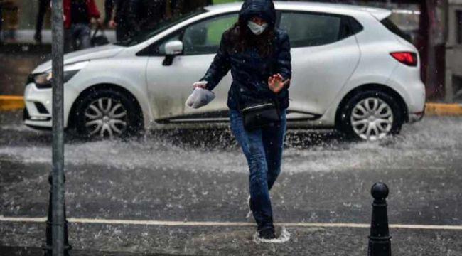 Son dakika: Meteoroloji 46 il için uyardı! Şemsiyeleri hazırlayın, çok kuvvetli geliyor...